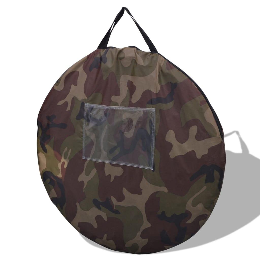 Vidaxl 2 Person Pop Up Tent Camouflage Vidaxl Co Uk