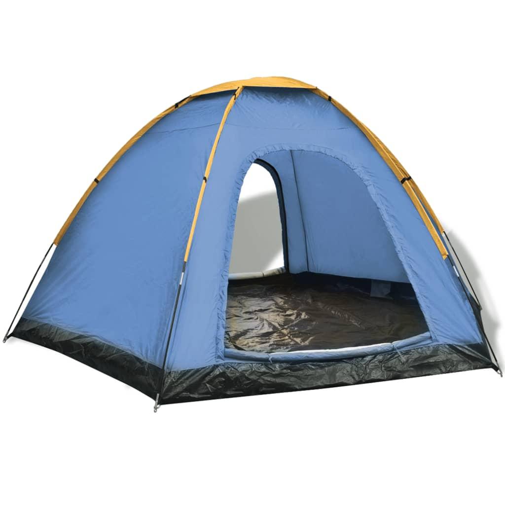 vidaXL 6 személyes sátor sárga
