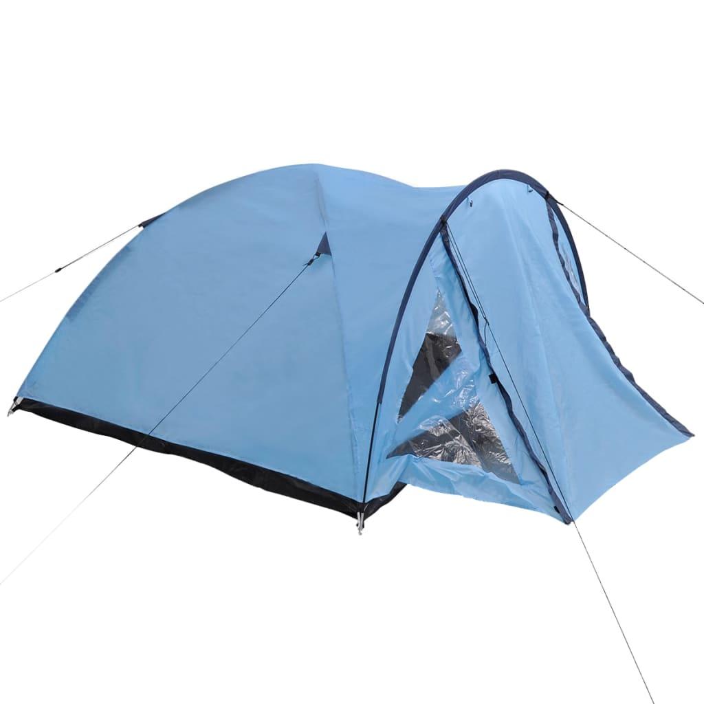 acheter vidaxl tente pour 3 personnes bleu pas cher. Black Bedroom Furniture Sets. Home Design Ideas