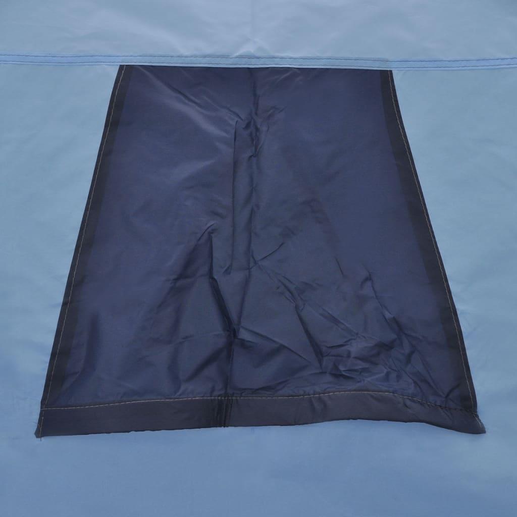 vidaXL-Tienda-de-Campana-de-Poliester-y-Fibra-3-Personas-de-Color-Azul-Marino