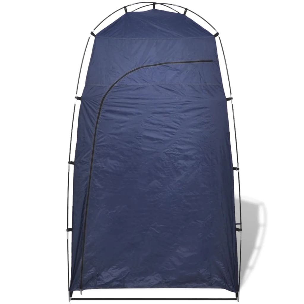 vidaXL-Tienda-de-Campana-para-Ducha-WC-Vestidor-Azul-Medidas-130-x-130-x-210-cm