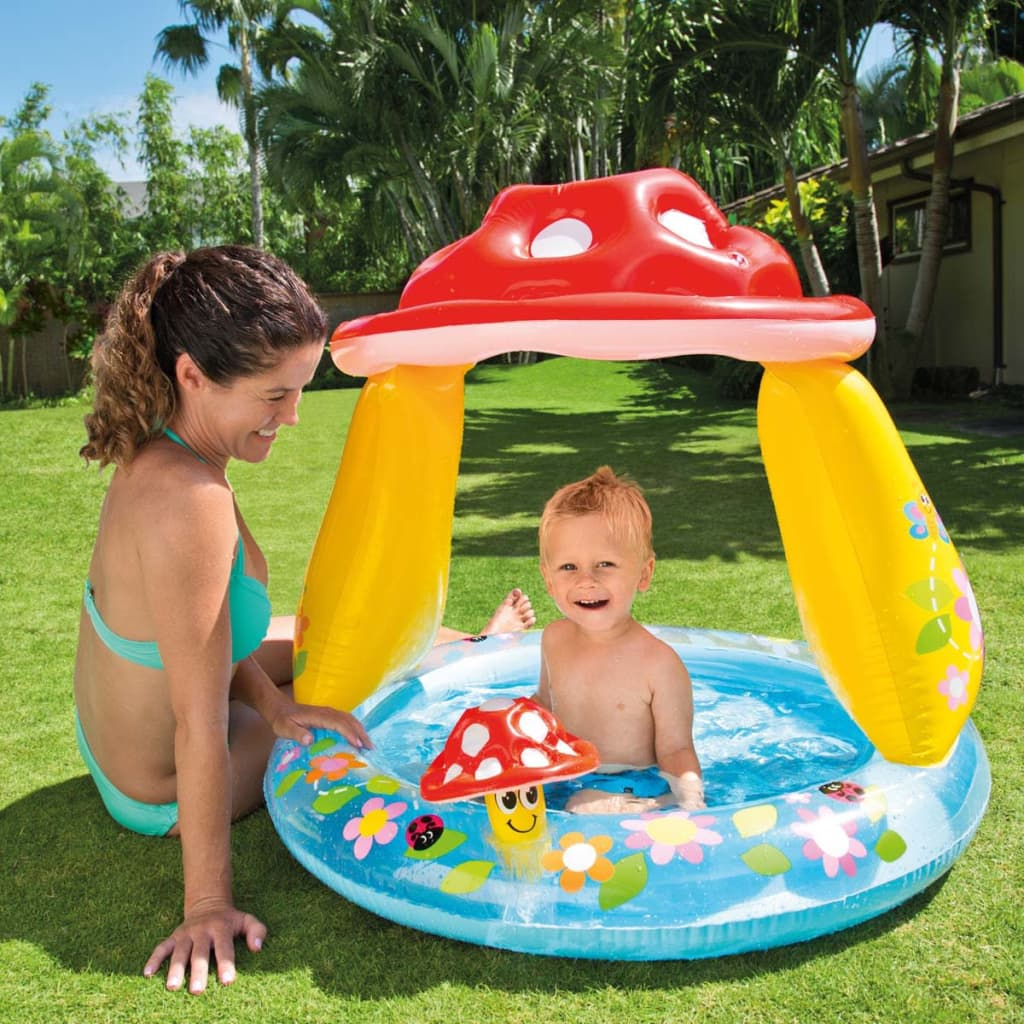 Acheter intex piscine pour b b en forme de champignon for Piscine intex solde
