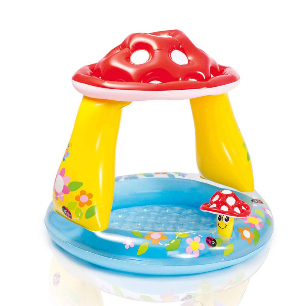 Intex piscina da bambini a forma di funghetto 57114np - Amazon piscina bambini ...