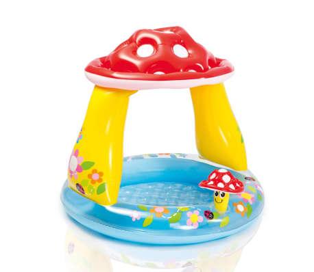 La boutique en ligne intex piscine pour b b en forme de for Piscine bebe champignon