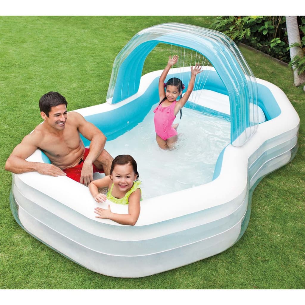 Intex inflatable cabana swimming centre for Intex webshop