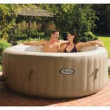Intex PureSpa Uppblåsbart spa med bubbelmassage 196x71 cm 28404NL