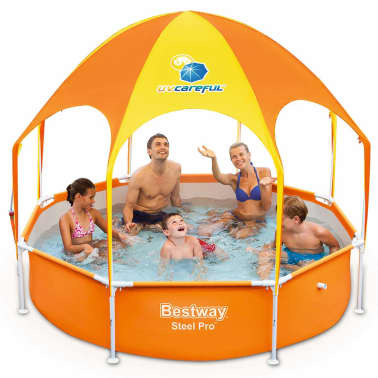 La boutique en ligne bestway 56432 piscine avec auvent 244 for Bestway piscine service com