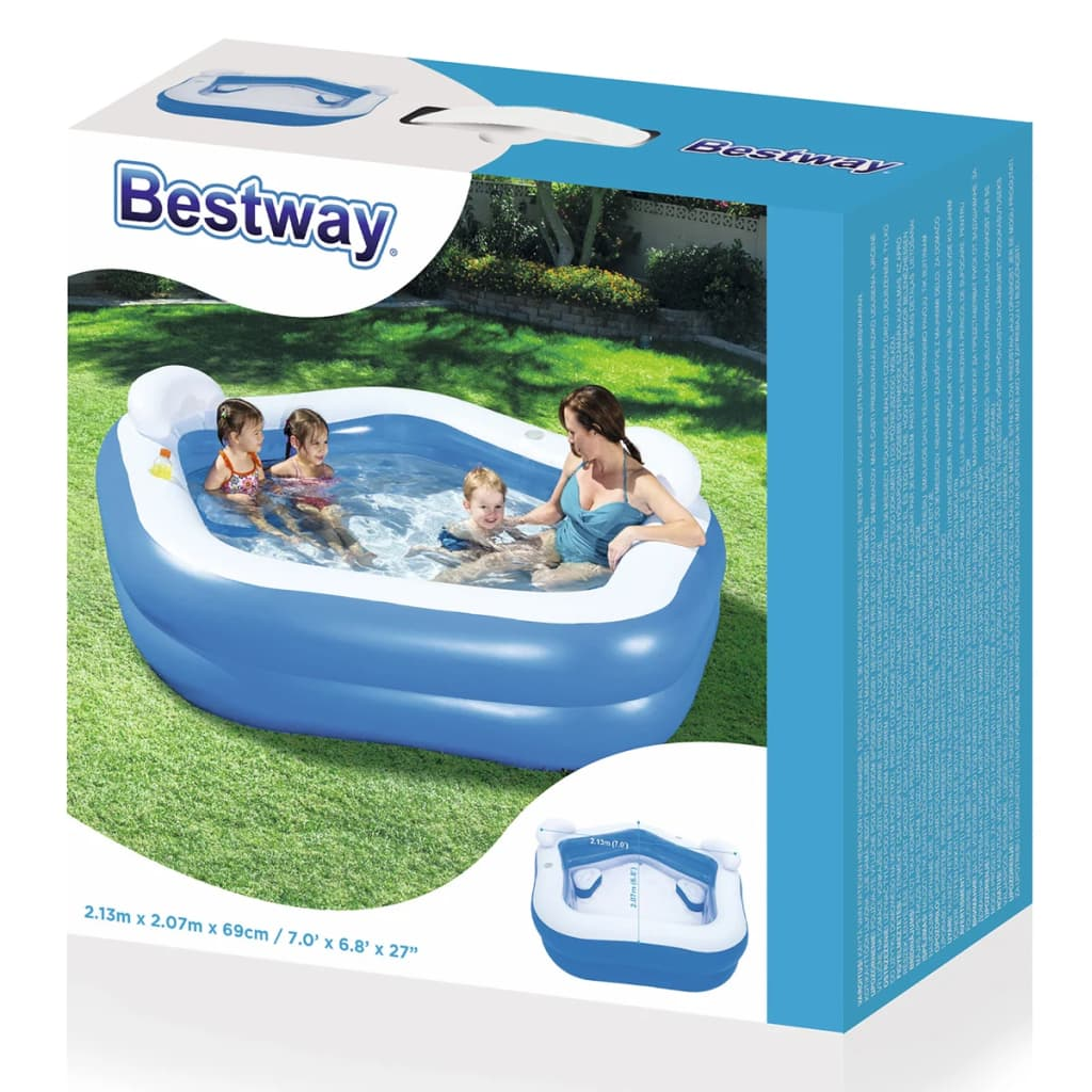 Bestway kids 39 play pool inflatable swimming kid family for Garden swimming pool ebay