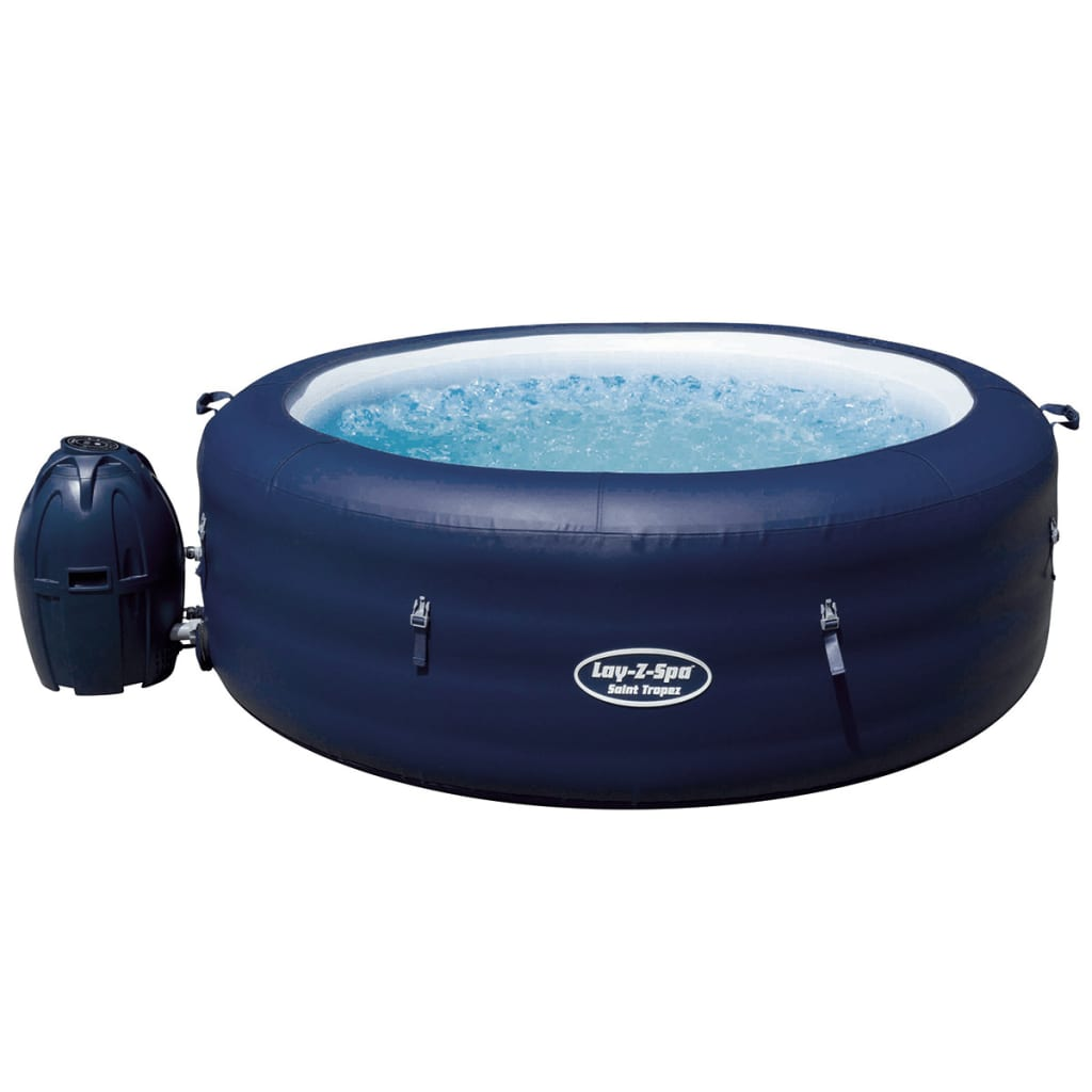 La boutique en ligne bestway jacuzzi gonflable lay z spa saint tropez 196 x 61 cm - Promo spa gonflable ...