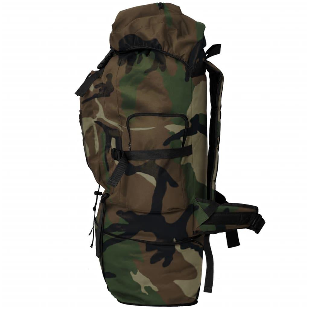 acheter vidaxl sac dos en style d 39 arm e xxl 100 l camouflage pas cher. Black Bedroom Furniture Sets. Home Design Ideas
