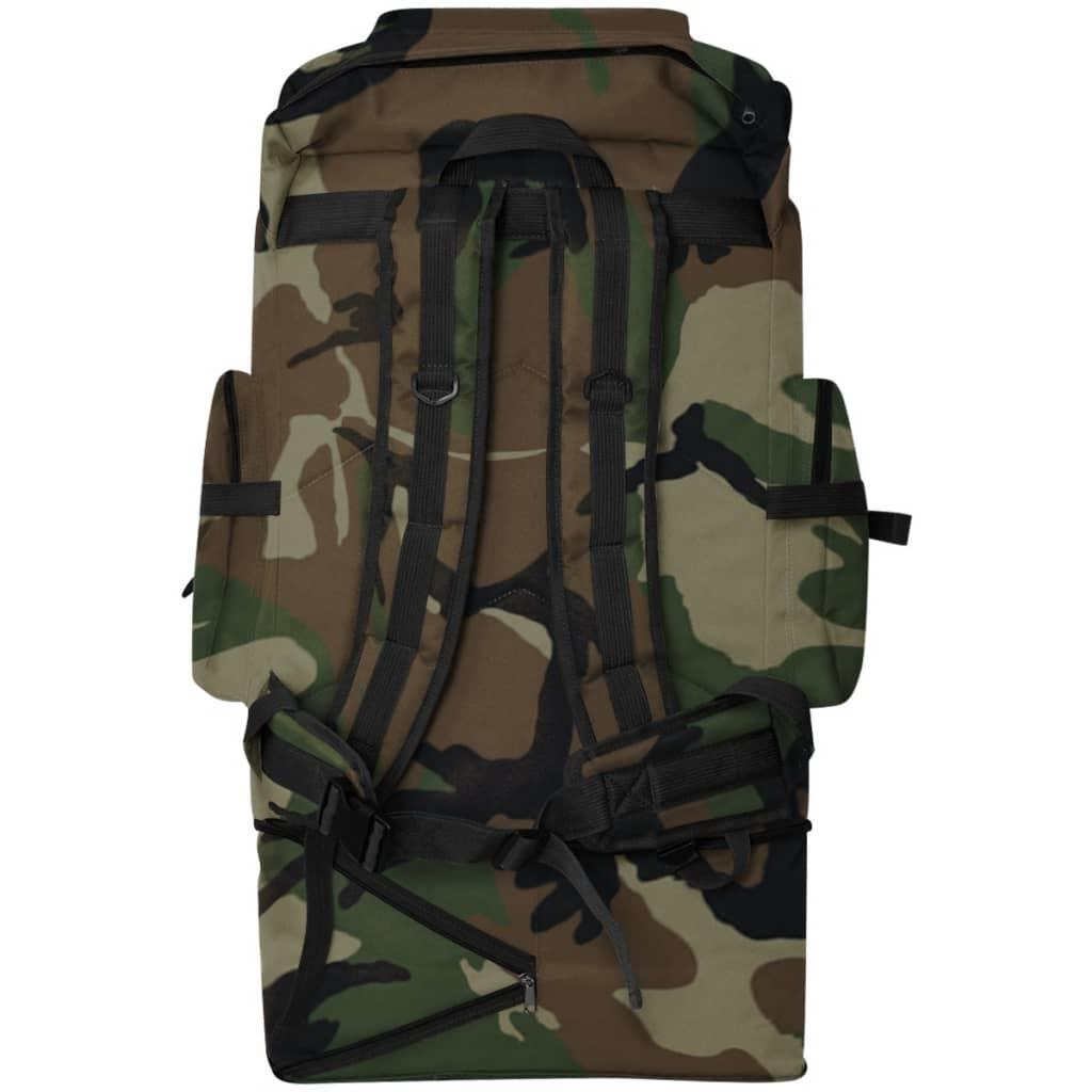 la boutique en ligne vidaxl sac dos en style d 39 arm e xxl 100 l camouflage. Black Bedroom Furniture Sets. Home Design Ideas