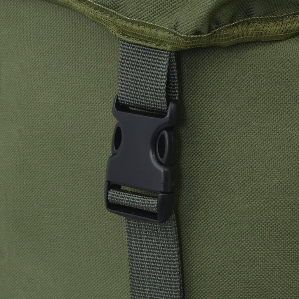 acheter vidaxl sac dos en style d 39 arm e 65 l vert pas cher. Black Bedroom Furniture Sets. Home Design Ideas