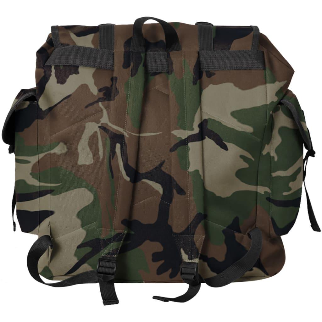 acheter vidaxl sac dos en style d 39 arm e 40 l camouflage pas cher. Black Bedroom Furniture Sets. Home Design Ideas