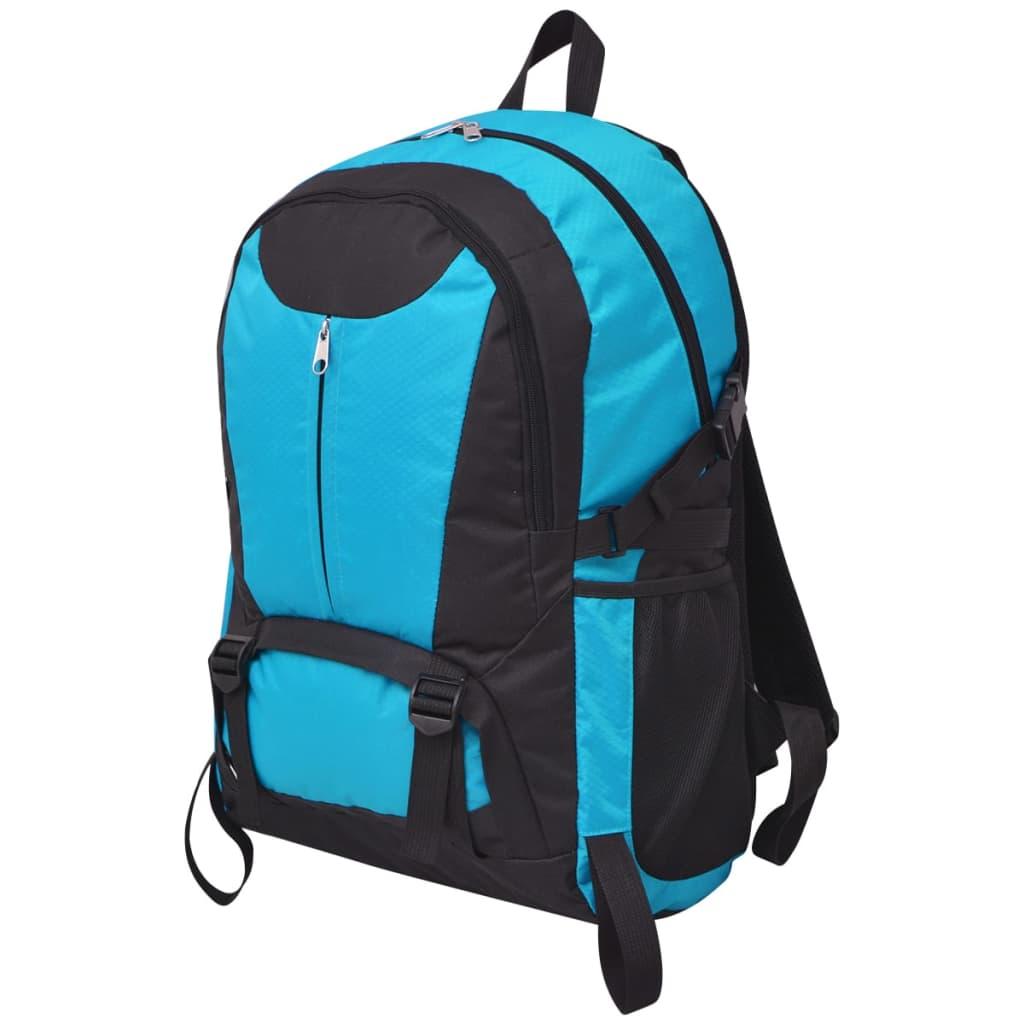 vidaXL-Mochila-Senderismo-Capacidad-40L-Poliester-Color-Negra-y-Gris-Azul-Verde