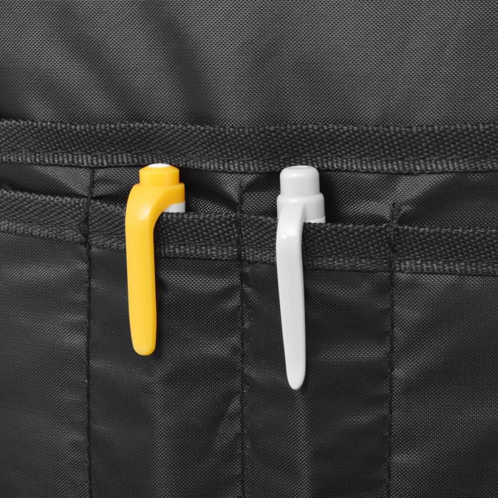 vidaxl schulrucksack 40 l schwarz und blau g nstig kaufen. Black Bedroom Furniture Sets. Home Design Ideas