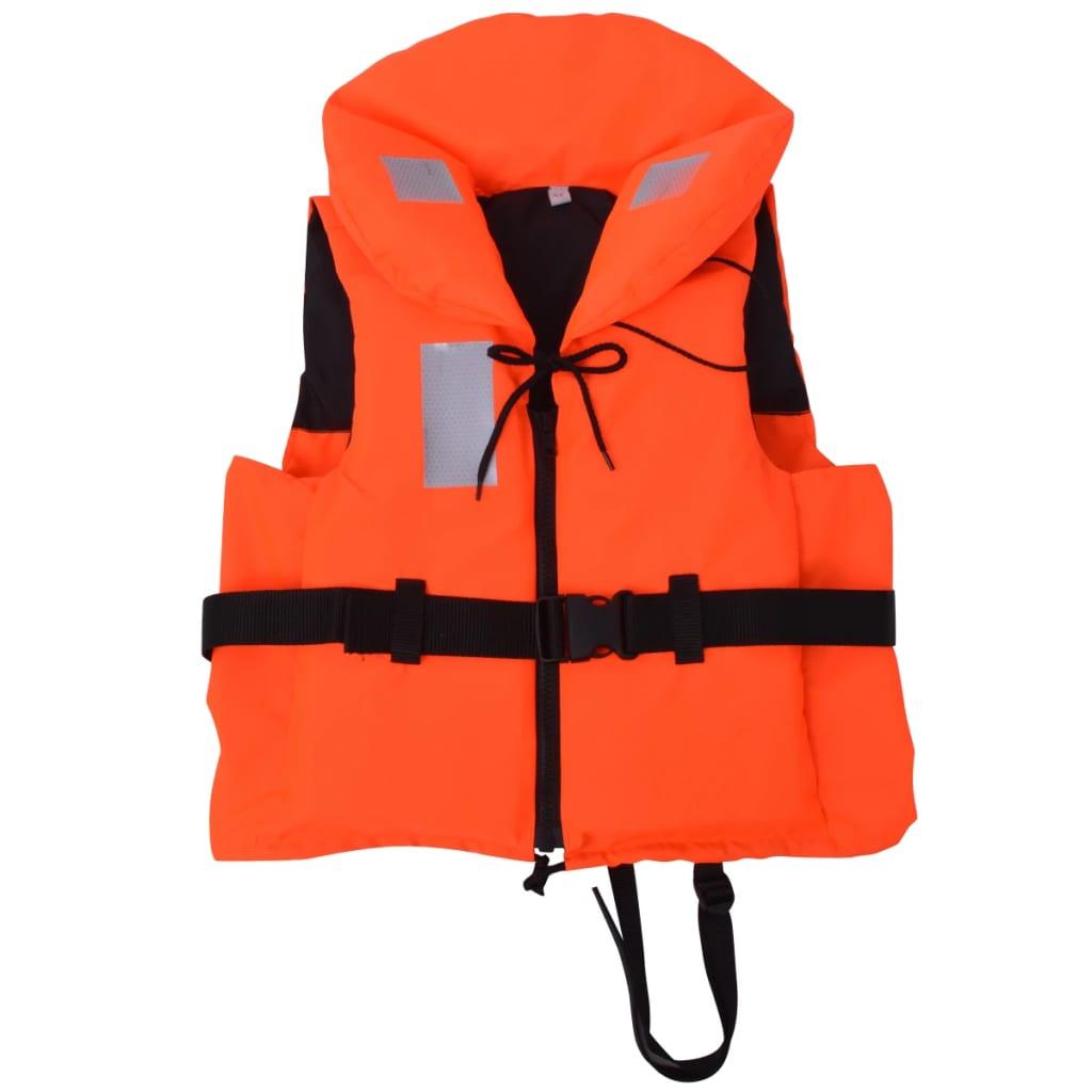 vidaXL 30-40 kg 100 N mentőmellény
