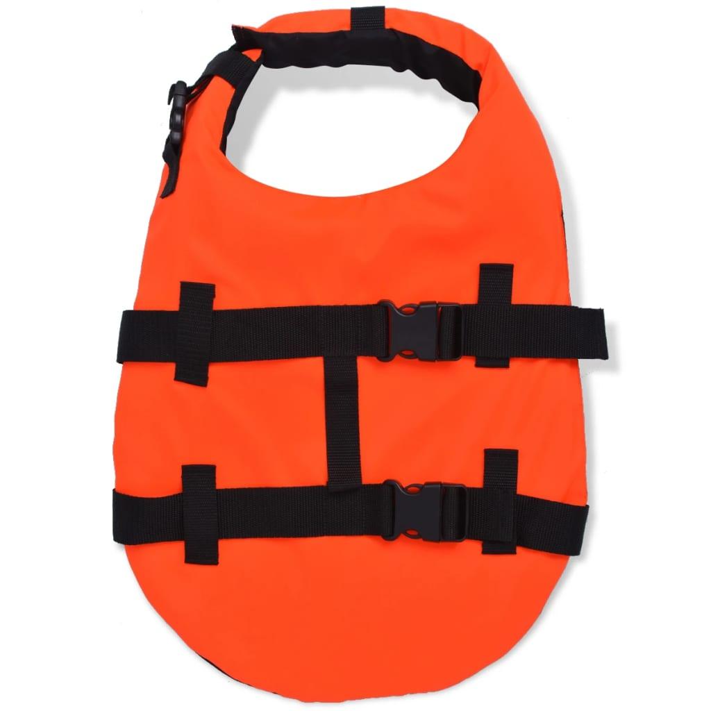 acheter vidaxl gilet de sauvetage pour chiens m orange pas. Black Bedroom Furniture Sets. Home Design Ideas