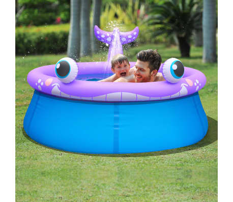 La boutique en ligne jilong piscine gonflable de for Piscine baleine