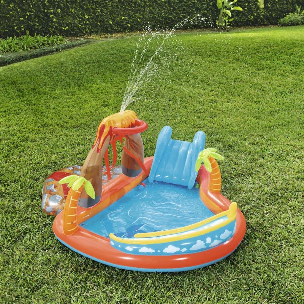 bestway espace de jeu toboggan aquatique pour enfant lava. Black Bedroom Furniture Sets. Home Design Ideas