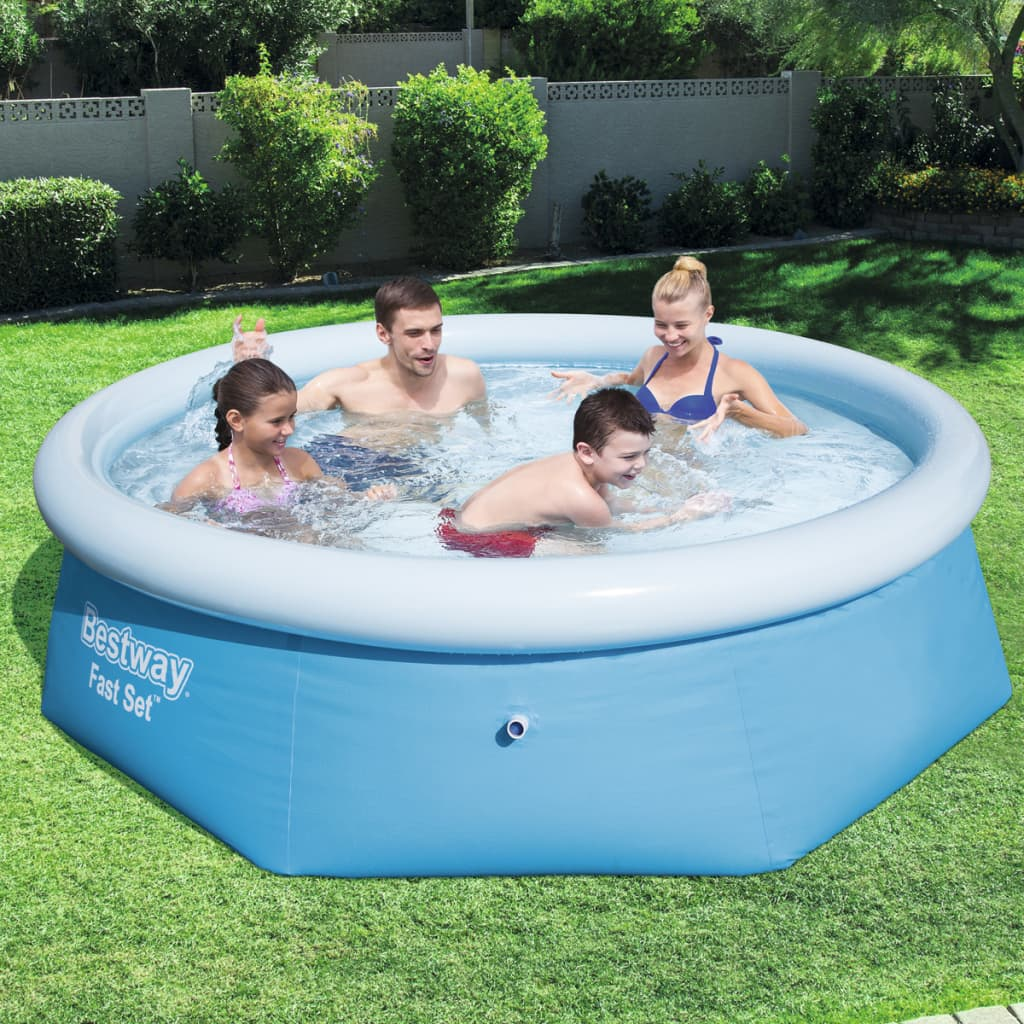Acheter bestway piscine fast set 244 x 65 cm 57265 pas for Bestway piscine catalogo