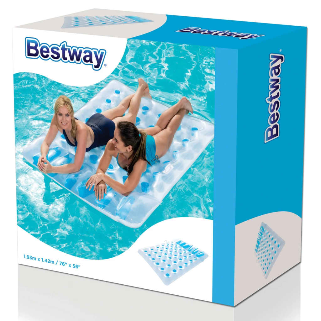 Bestway colchoneta doble inflable para piscina 43055 for Colchonetas para piscina